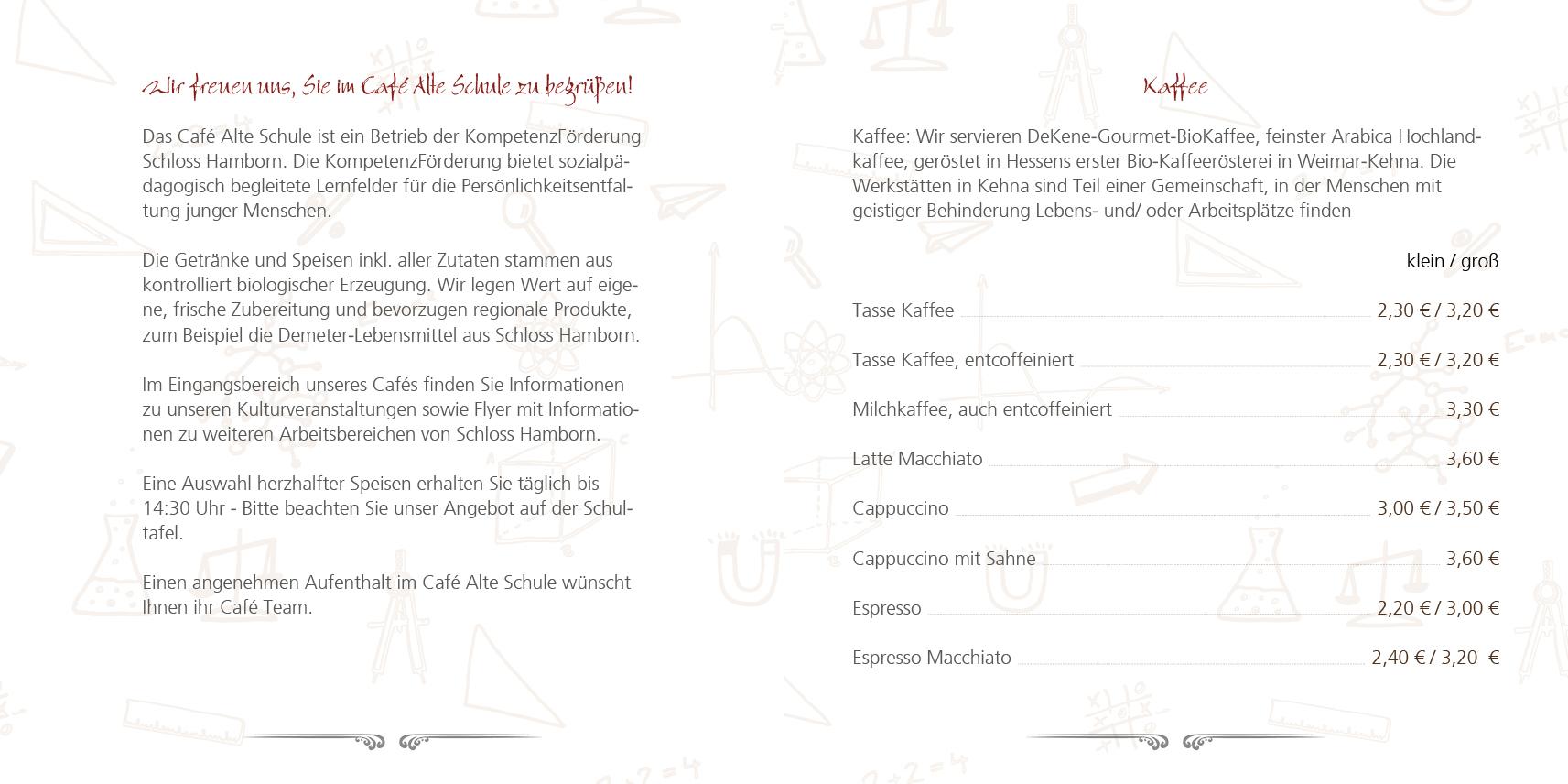 Cafe Alte Schule Hamborn